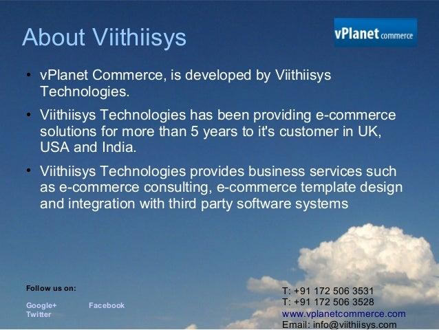 SaaS based E-commerce Platform Slide 3