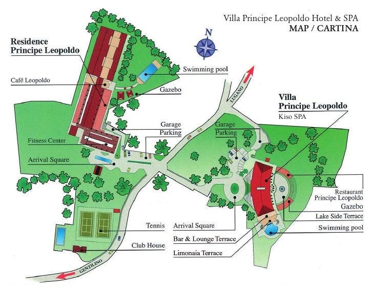 Villa Principe Leopoldo Hotel & SPA                   MAP / CARTINA