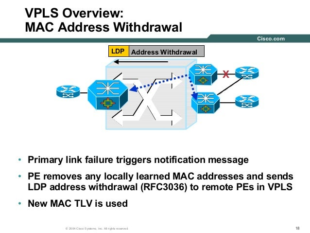 Cisco Virtual Private Lan Service Vpls Technical Deployment Overview on tx rx systems inc