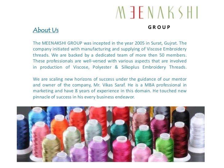 Viscose Embroidery Threads by Meenakshi Embroidery Yarn, Surat Slide 2