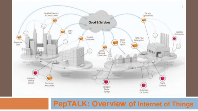 PepTALK: Overview of Internet of Things 1