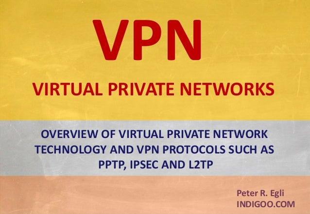 © Peter R. Egli 2015 1/37 Rev. 3.30 VPN - Virtual Private Networks indigoo.com Peter R. Egli INDIGOO.COM OVERVIEW OF VIRTU...