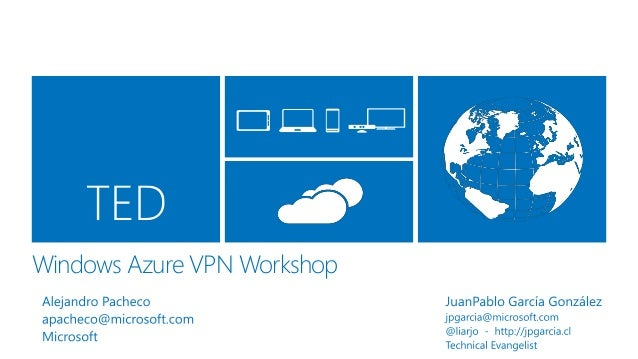 Windows Azure VPN Workshop