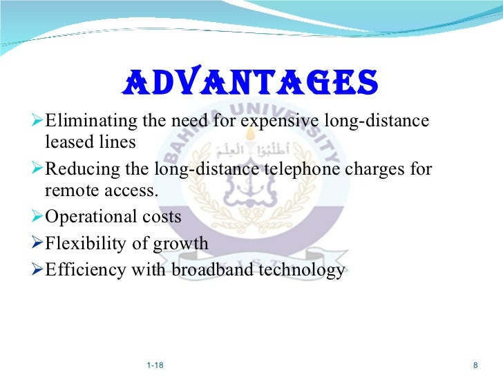 Virtual private networks (vpn) ppt.