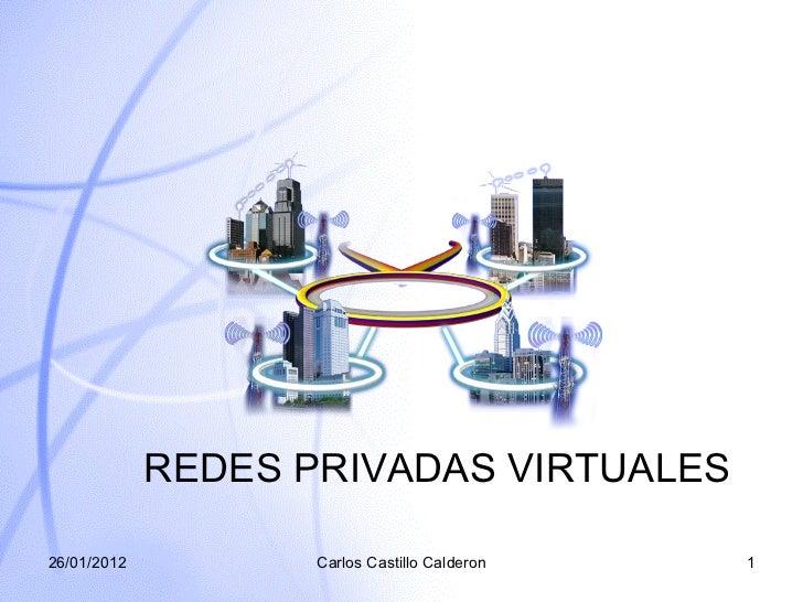 Que es una red privada