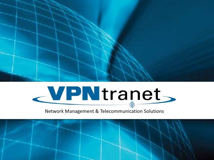 Network Management & Telecommunication Solutions<br />