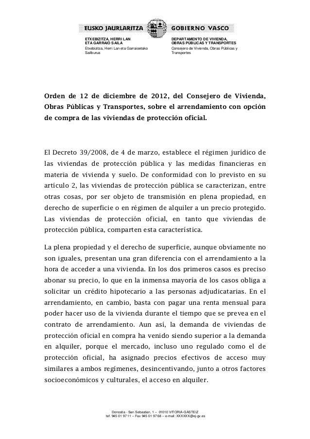ETXEBIZITZA, HERRI LAN                              DEPARTAMENTO DE VIVIENDA,            ETA GARRAIO SAILA                ...