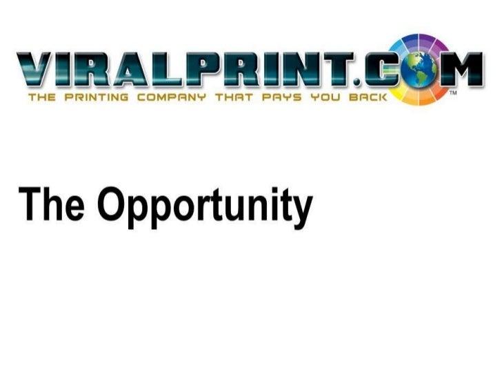 ViralPrint Business Opportunity