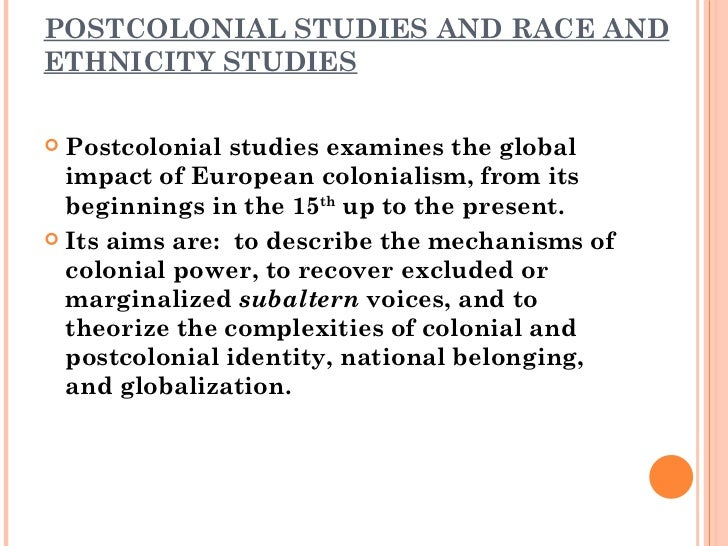 recovering the voice of subalterns Hence, the discourse of orientalism is eurocentric, and does not seek to include the voices of the oriental peoples, the subalterns,  the voice of the subaltern .