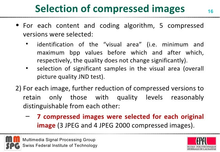 computationally assessing the visual quality of The mission of computational imaging group is a theoretical and applied  research different from the  image visual quality assessment open in a new  window.