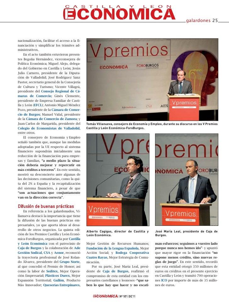 V Premios Castilla y León Económica Slide 2