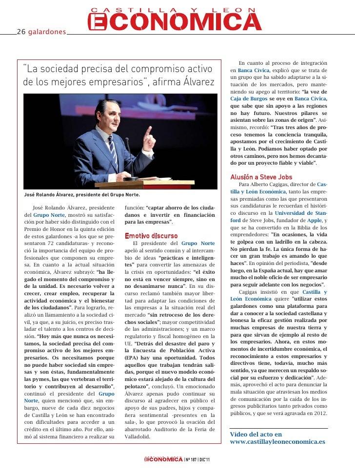 V Premios Castilla y León Económica Slide 3
