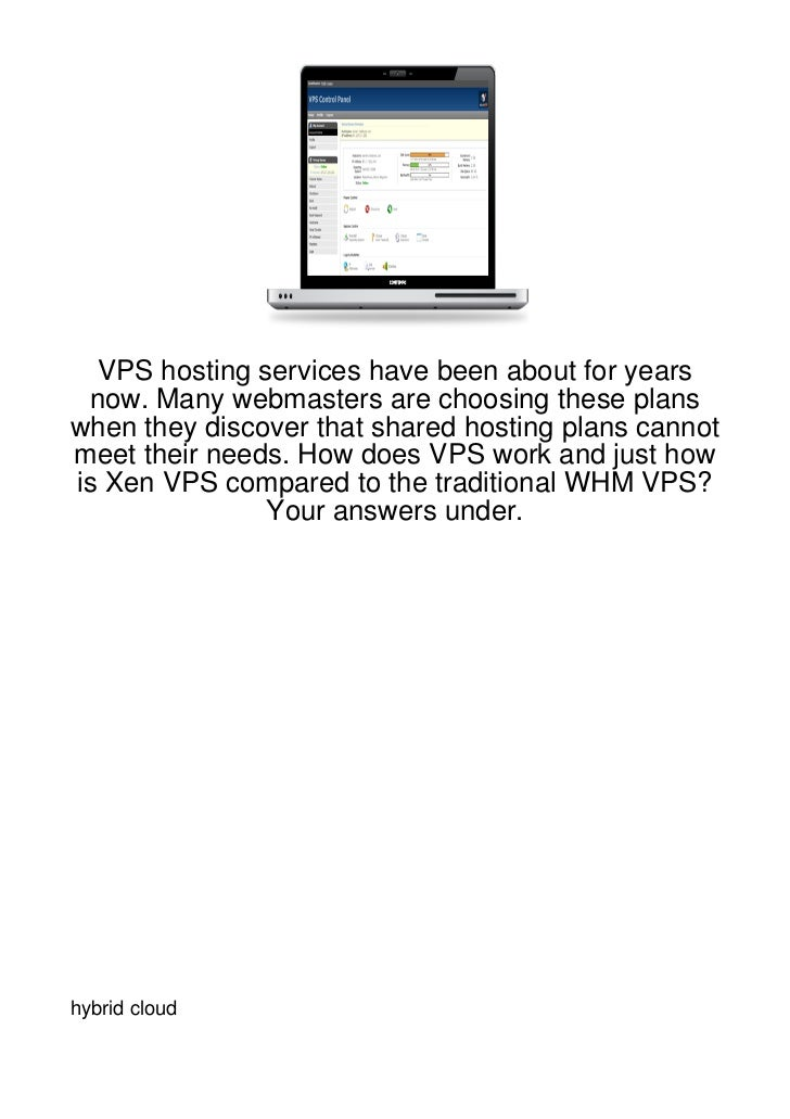 VPS hosting services have been about for years now. Many webmasters are choosing these planswhen they discover that shared...