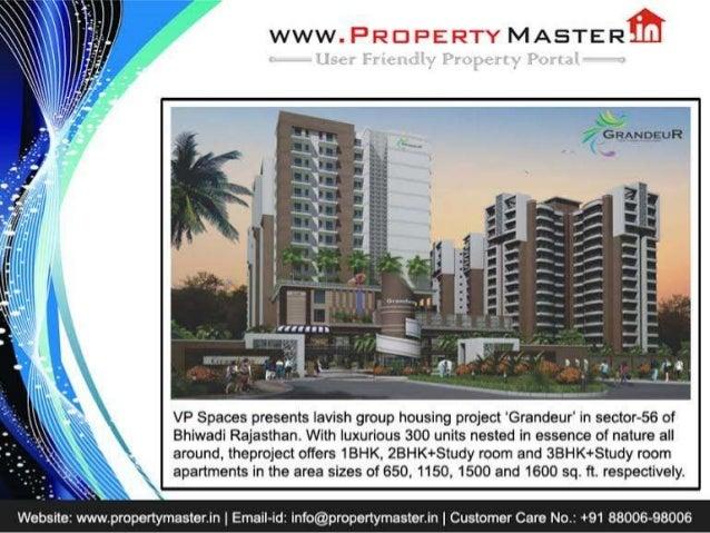 Vp spaces grandeur@ 8800698006  bhiwadi flats