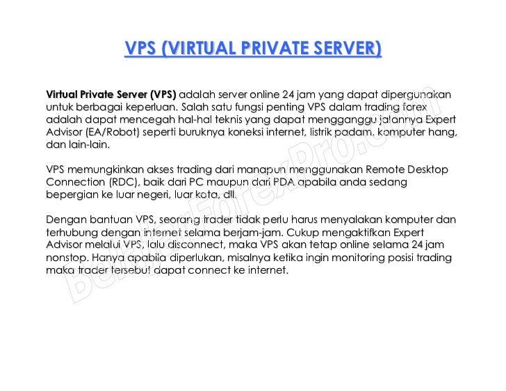 Vps forex adalah