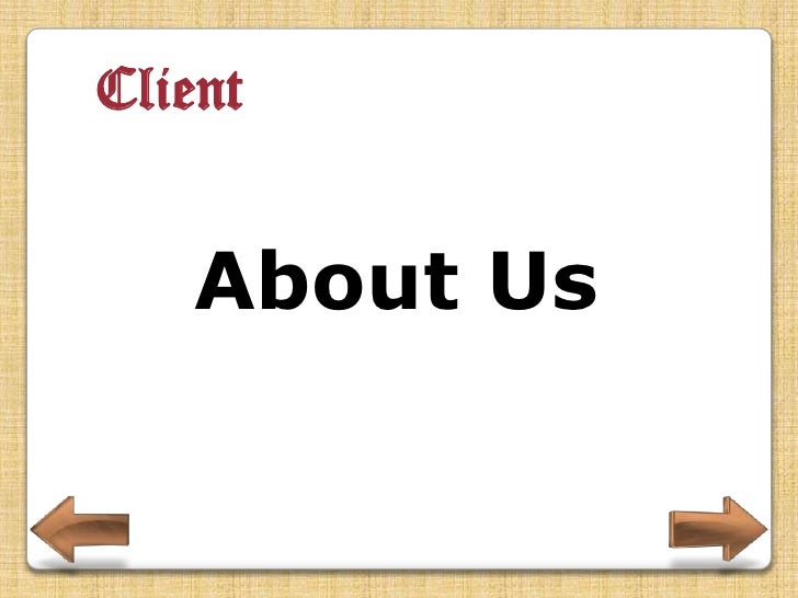 Client  Contact Us