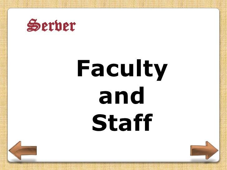 Server     Alumni
