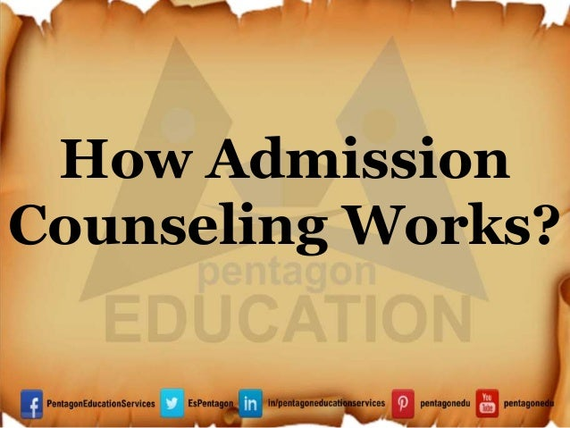 How Admission Counseling Works?