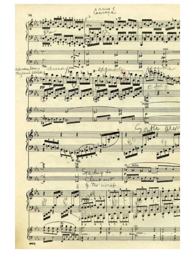 Sound + Vision: On the Future of Sheet Music