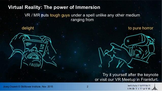 Virtual Reality Analytics Slide 2