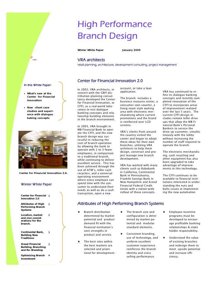 High Performance                                        Branch Design                                        Winter White ...