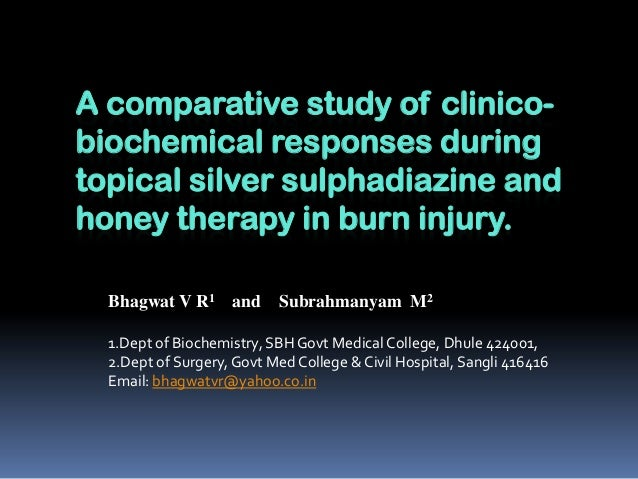Comparative study of clinical response to
