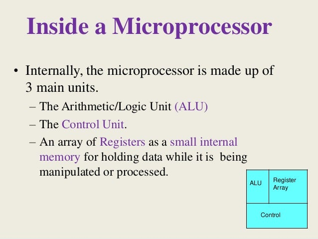 applications of microprocessor 8086 on outer peripherals About the tutorial a microprocessor is a controlling unit of a micro-computer,  fabricated on a small chip  comparison between 8085 &8086 microprocessor.
