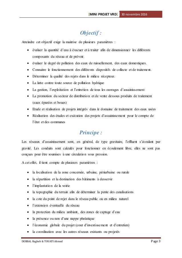 calcule VRD Slide 3