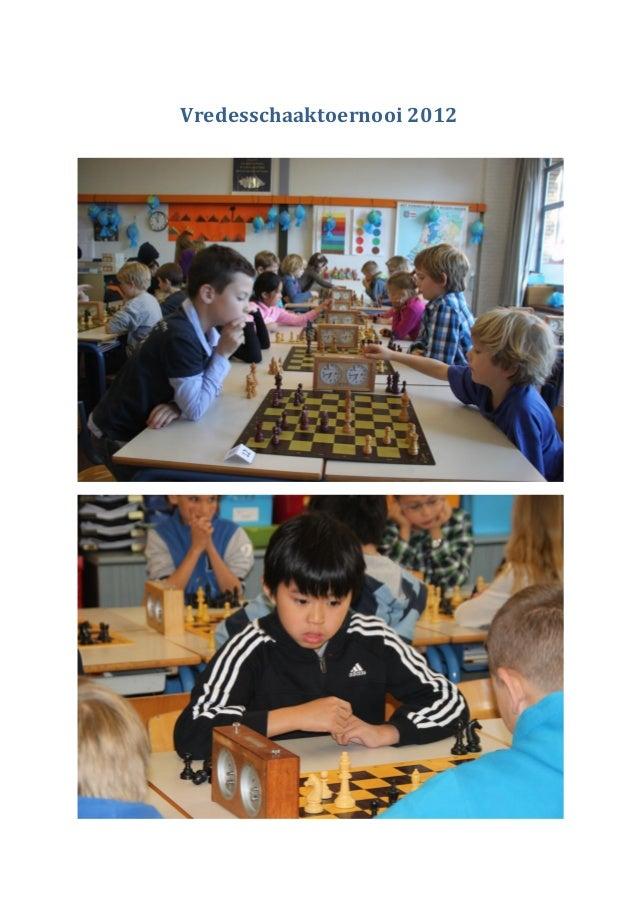 Vredesschaaktoernooi 2012