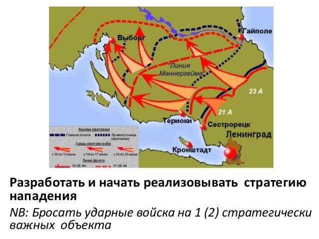 Разработать и начать реализовывать стратегию нападения NB: Бросать ударные войска на 1 (2) стратегически важных объекта