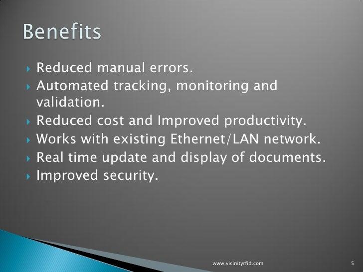 Vrfid Document Tracking
