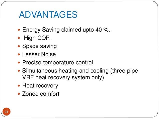 Variable Refrigerant Flow Vrf Ppt