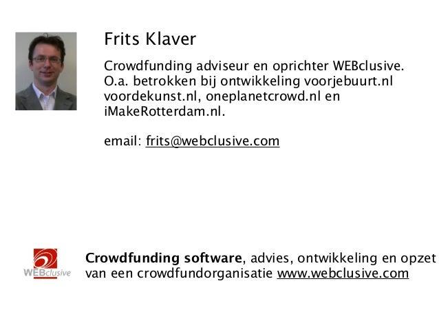 Introductie crowdfunding Slide 2