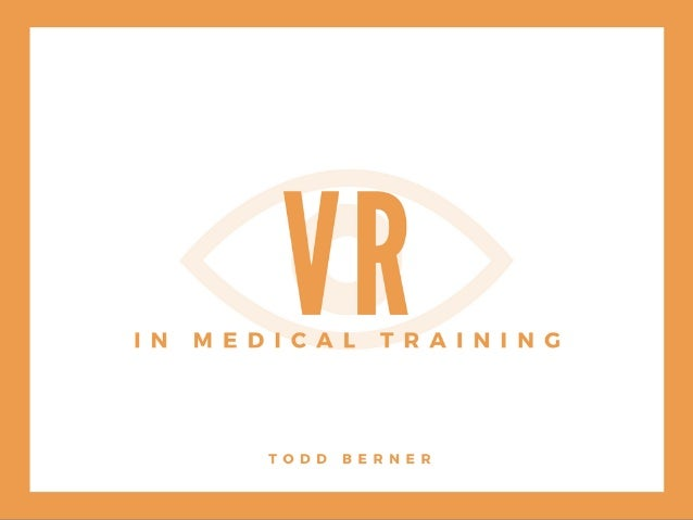 VR in Medical Training