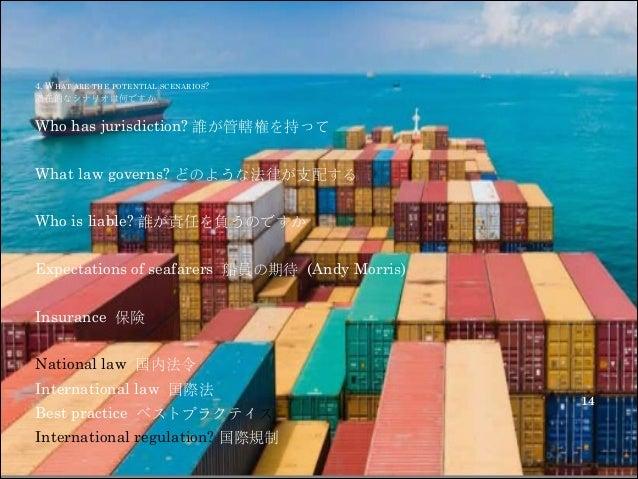 Regulation Of Unmanned Vessels