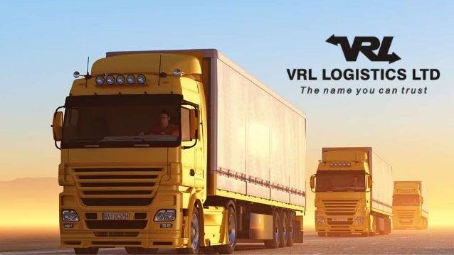 Ipo vrl logistics limited