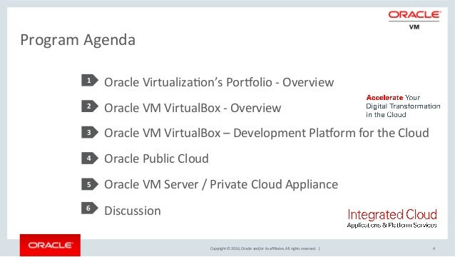 Develop Oracle Virtual Box and deploy to Cloud