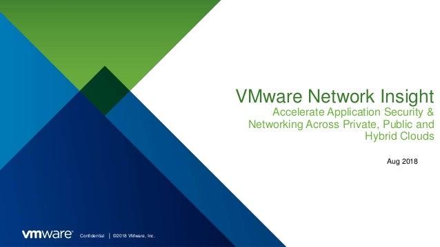 vRealize Network Insight 3.9