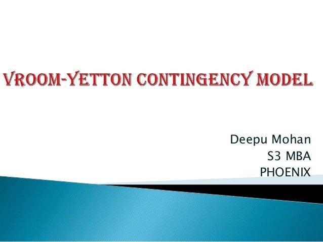 Deepu Mohan     S3 MBA    PHOENIX