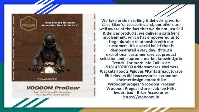Vroooom progear store Slide 3