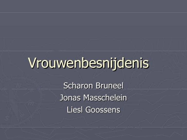 Vrouwenbesnijdenis Scharon Bruneel Jonas Masschelein Liesl Goossens