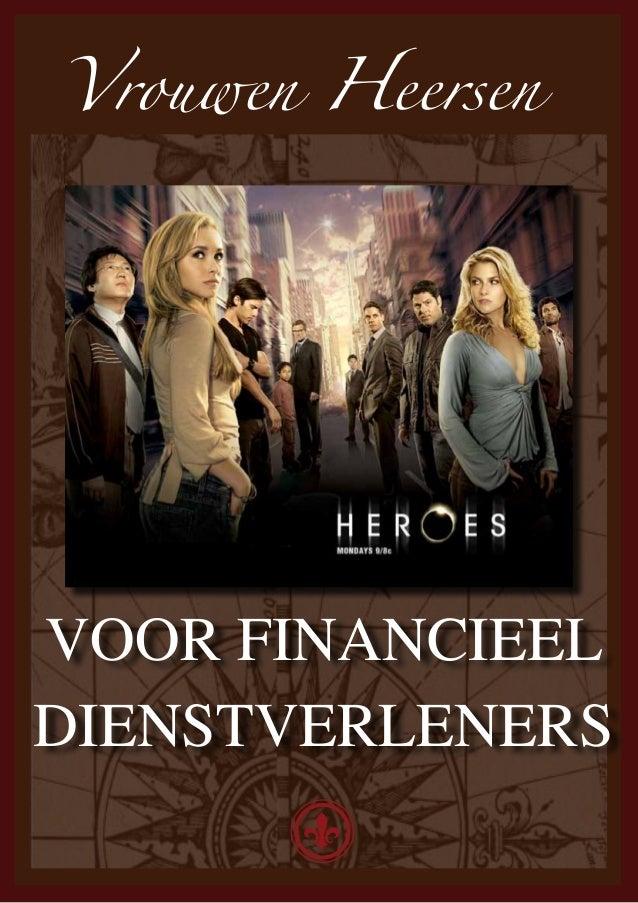 Vrouwen HeersenVOOR FINANCIEELDIENSTVERLENERS