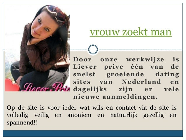 dating site voor Vrouwen