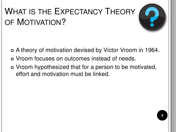Management Theory of Victor Vroom