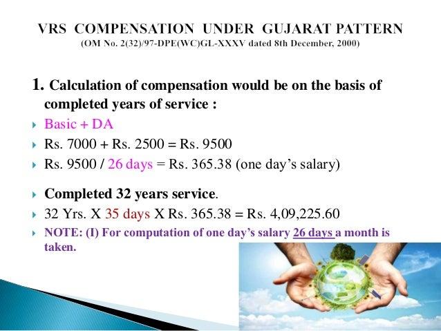 Voluntary retirement scheme.