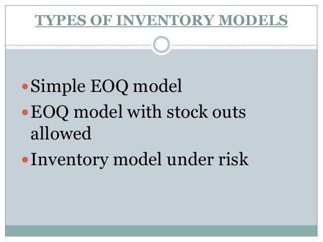 VRS Inventory control management software presentation