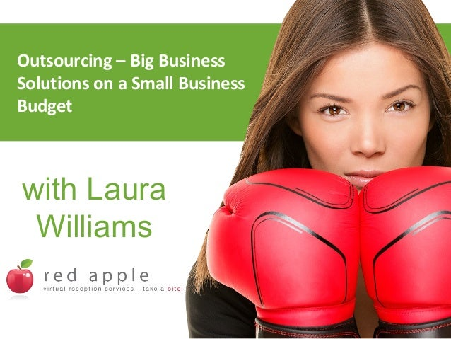 Outsourcing – Big Business Solutions on a Small Business Budget with Laura Williams
