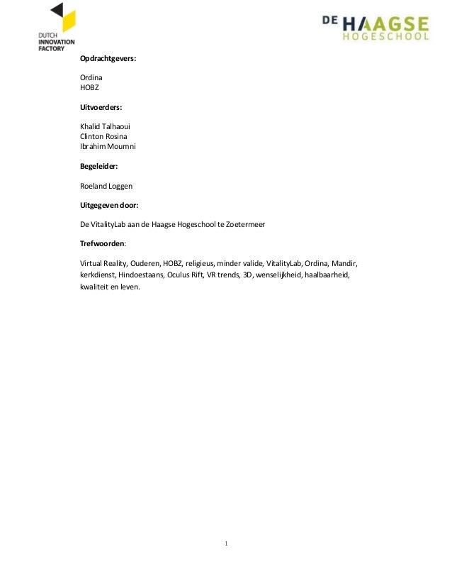 Vr voor kerkbezoek   onderzoeksrapport versie-2 Slide 2