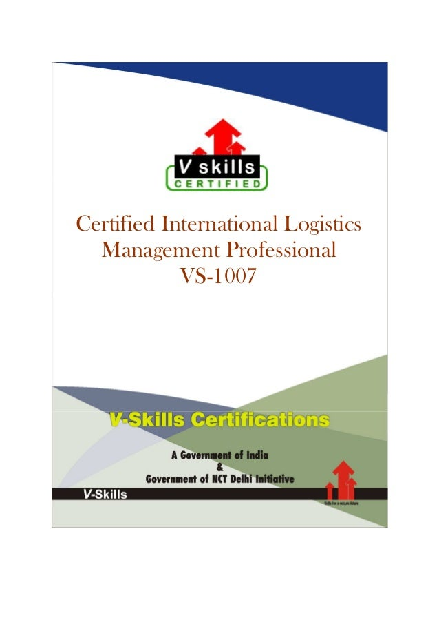 International Logistics Certification