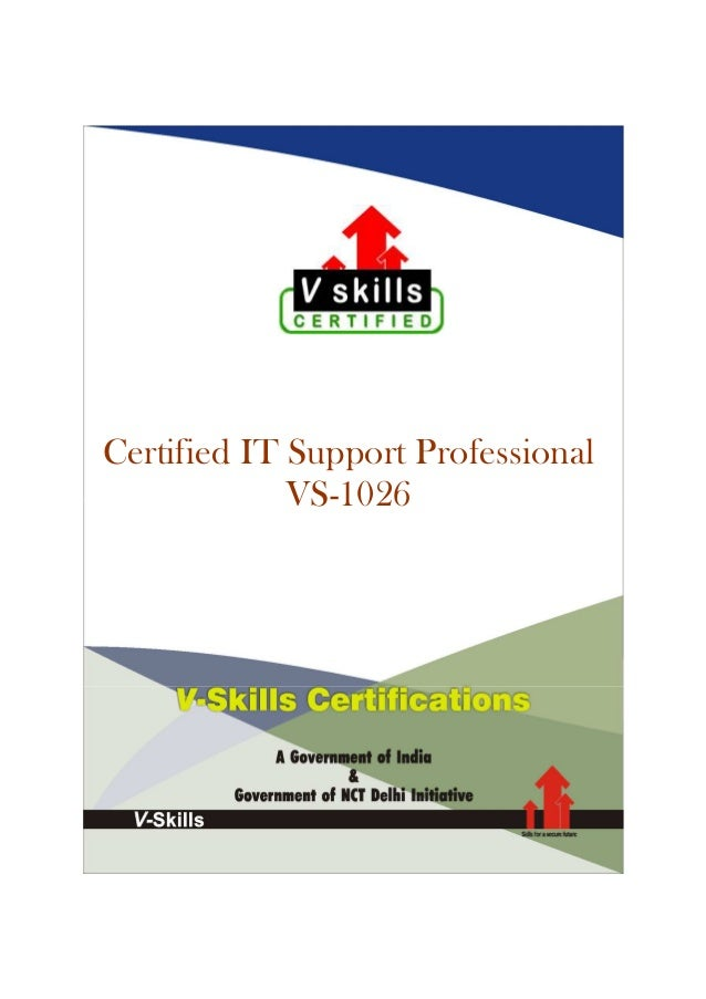 Certified IT Support Professional VS-1026